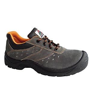 Zapato en piel serraje - 39