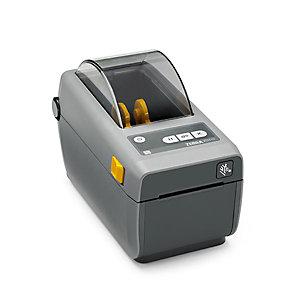 ZEBRA Stampante Desktop compatta ZD410, 2 pollici, Stampa termica diretta, USB, Nero