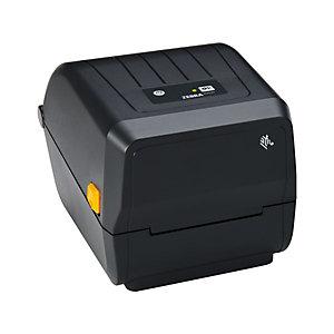 Zebra Stampante Desktop ZD220, 4 pollici, Trasferimento termico e Stampa termica diretta, USB, Nero