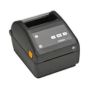 ZEBRA Stampante Desktop ZD420, 4 pollici, Trasferimento termico e stampa termica diretta, USB, Nero