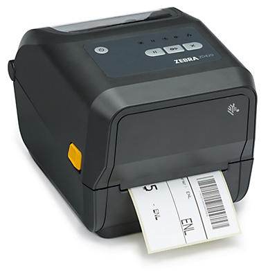 "ZEBRA ZD420T 4"" Wide Direct Thermal & Thermal Transfer Desktop Label Printer"