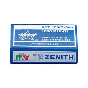 ZENITH Punti metallici 6/4 - Mod. 130/E (Confezione 10.000 pezzi)