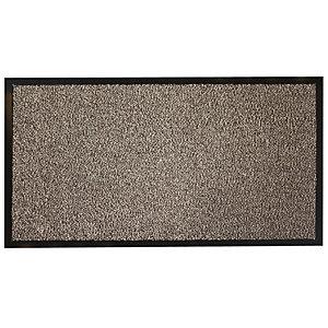 Zerbino per interni ed esterni, 120 x 90 cm, Grigio