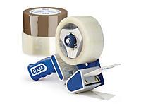 Zestaw taśma samoprzylepna ciche odwijanie Rajatape Standard Plus + dyspenser bezpieczny