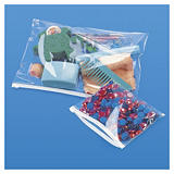 Zip lock, self-seal bags