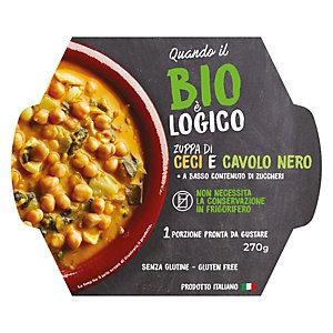 Zuppa di Ceci e Cavolo Nero Quando il Bio è Logico, 270 g