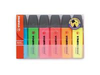 Zvýrazňovač Stabilo Boss® v sadě, 6 barev