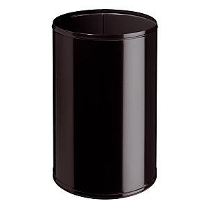 Zwarte brandwerende vuilnisbak 90 L