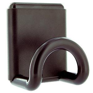 Zwarte magnetische kapstokhaak