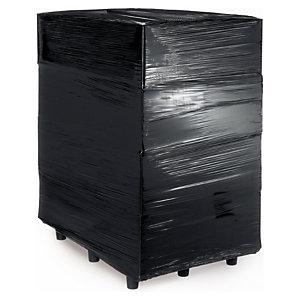 Zwarte ondoorzichtige rekfolie 450 mm breed