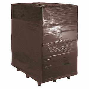 Zwarte ondoorzichtige rekfolie voor handmatig wikkelen 23micron 450mm x 300m